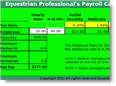 Equestrian Professional's 2013 Payroll Calculator - For US Horse Businesses