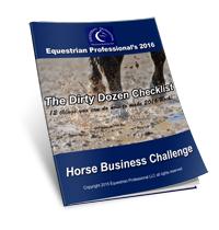 The Dirty Dozen Horse Business Checklist Download