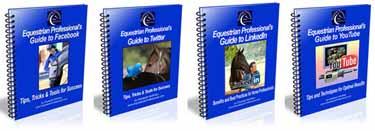 NEW Updated Editions! Equestrian Professional's Social Media Guides 2013